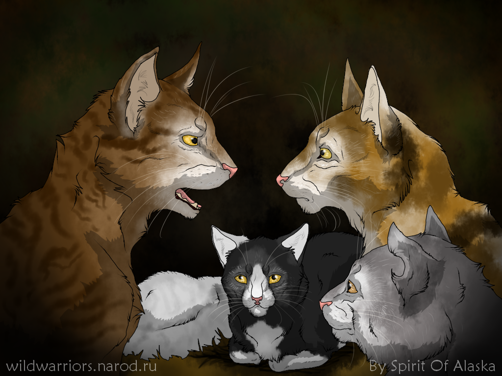 Warrior Cats Dappletail