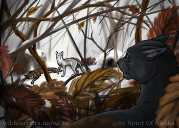 Hollyleaf's Story. Ch. IX, Part I by Spirit-Of-Alaska