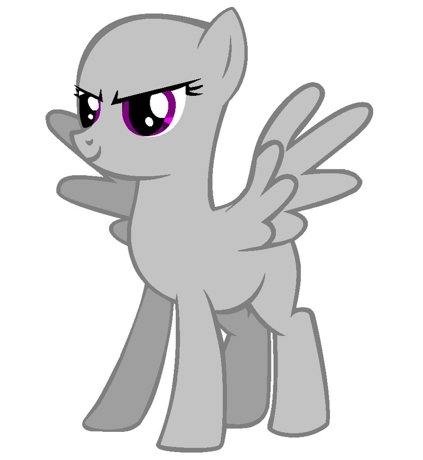 Epic pegasus pose base by Mayhem24 on DeviantArt Angry Black Wolf Drawing
