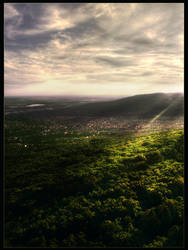 Landscape from TV tower by xGrabx