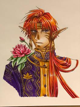 Fan Art: Prince Kougaiji.