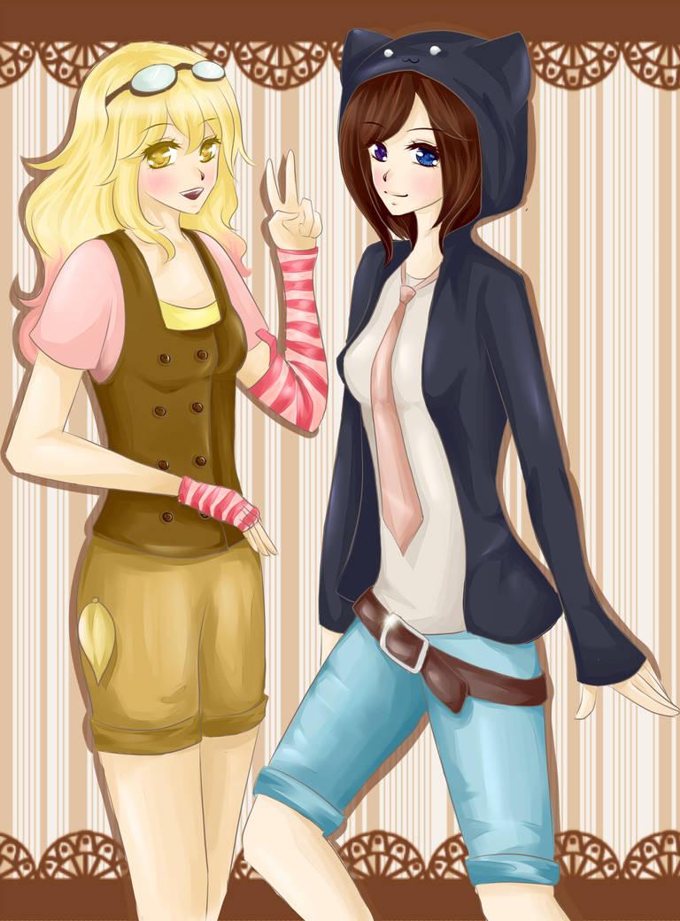 Birdie and Robyn by fae-ru