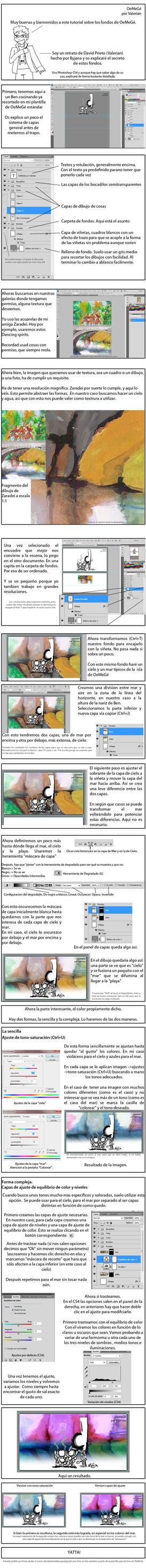 Tutorial Fondos OeMeGisticos by Valerian32