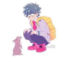 deku + bunny