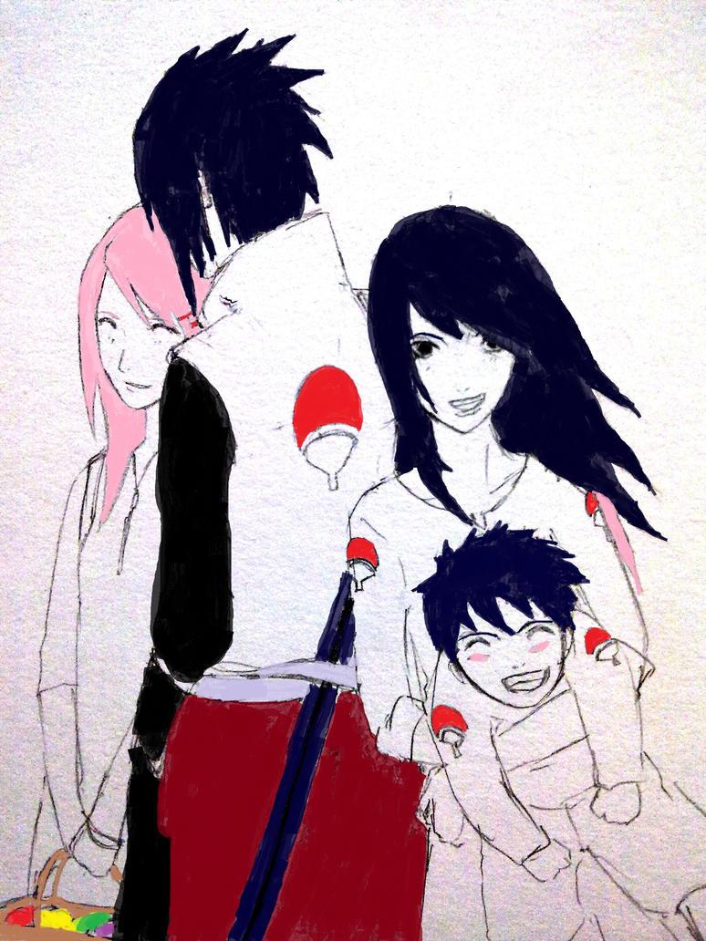 Sasusaku Pregnant Fanfic Sasusaku family by