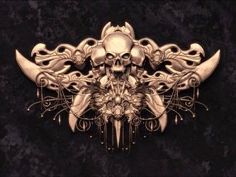 Skull Crest Design by pixelchemist