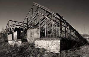 Scraped Glass House by BinLadin007
