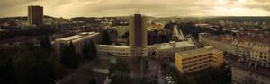 Rainy Brno City