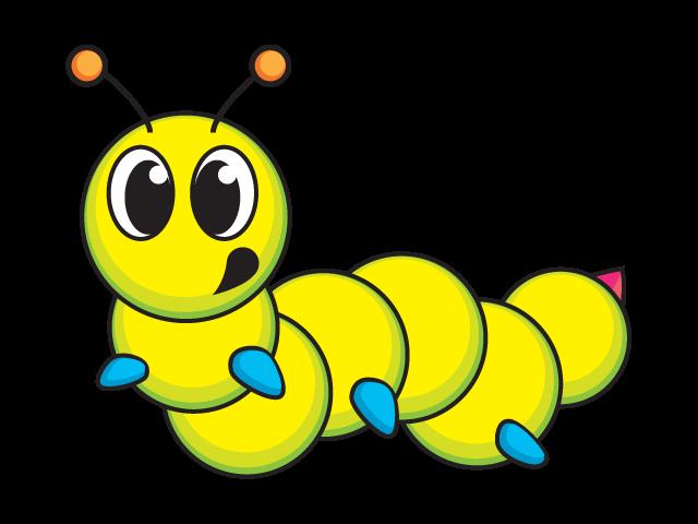 Caterpillar - Vector by DaveyMartin on DeviantArt Гусеница Вектор