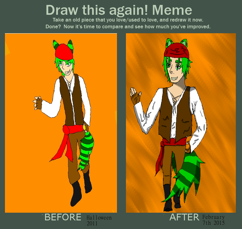 Meme  Before And After by Freedom-of-my-Soul