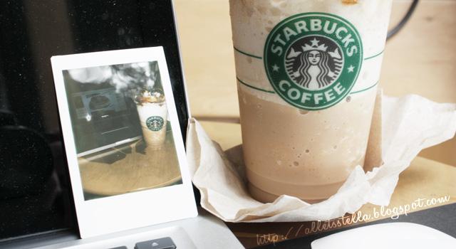 my Starbucks polaroid by alLets-Lexy