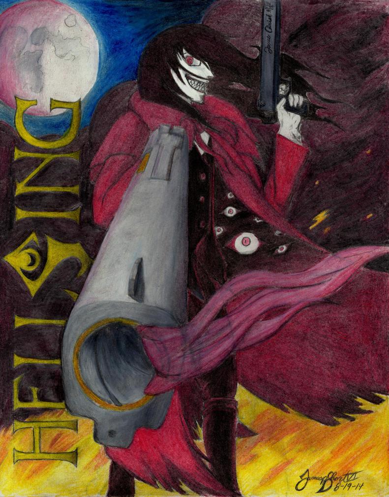 Alucard: The Vampire of Hellsing by TheWolfheart89