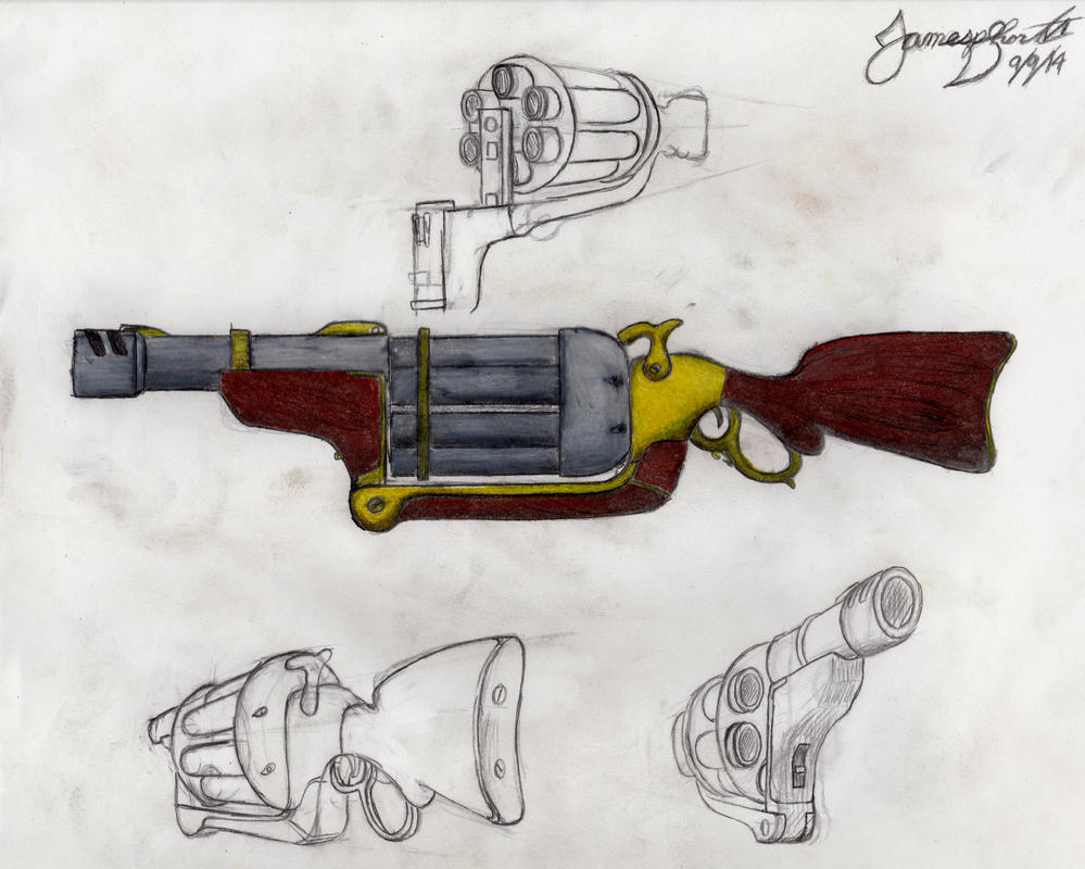 Short Arms, Inc. M1889 SFReC by TheWolfheart89