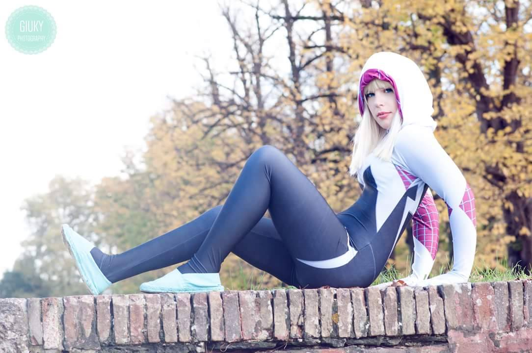 Spider Gwen - Cosplay #7 by V-Chan90