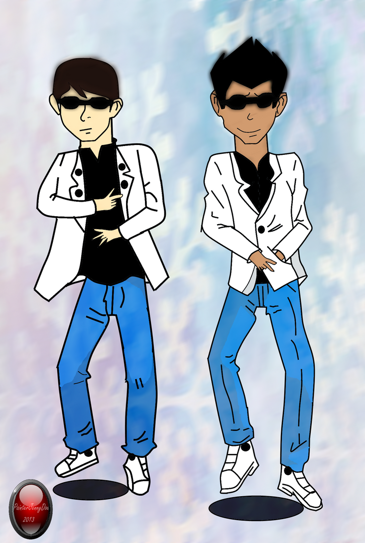 Gangnam Style- Ben and Rex by Nineonme