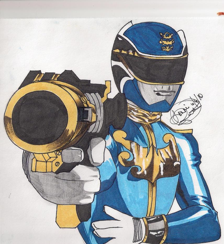 Gosei Blue by DynamicSavior