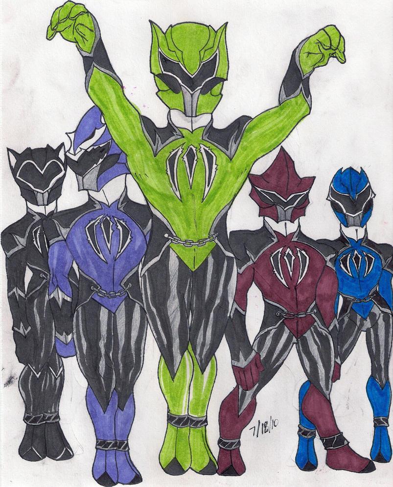 Monster Sentai by DynamicSavior