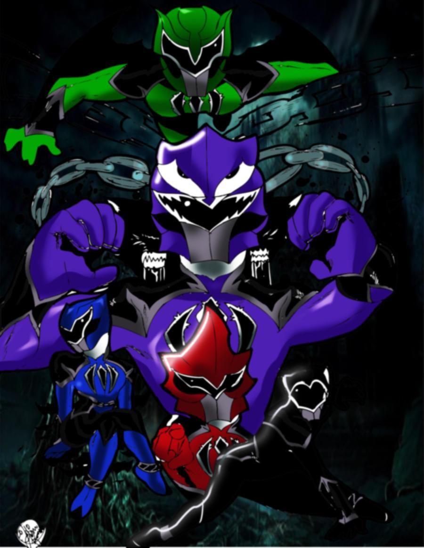 Monster Sentai Wallpaper by DynamicSavior