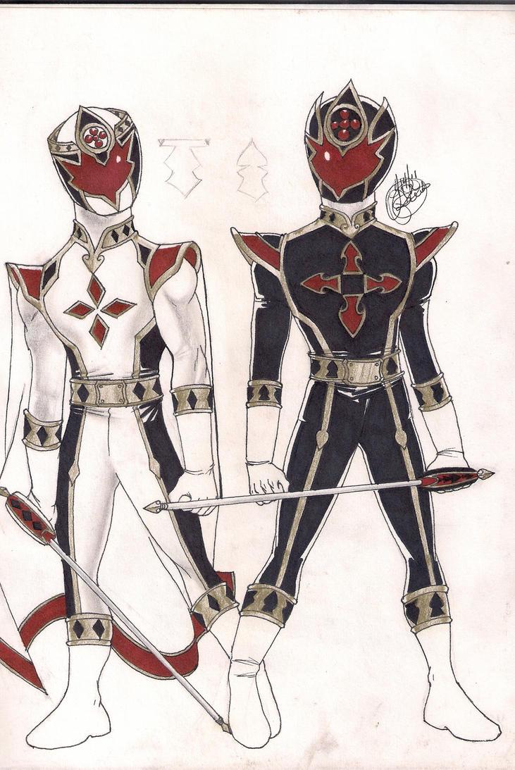 White Knight Black Joker by DynamicSavior