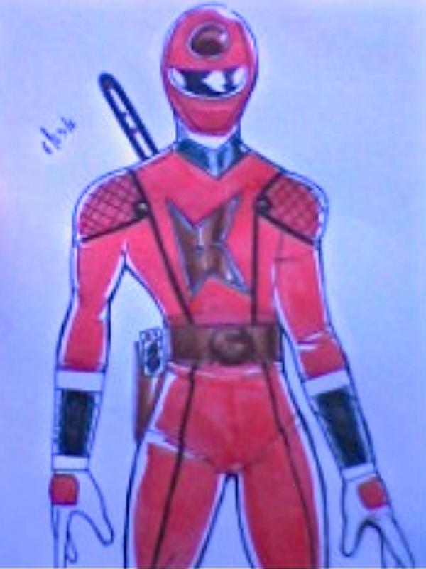 Kakuranger ReDesign upper body by DynamicSavior