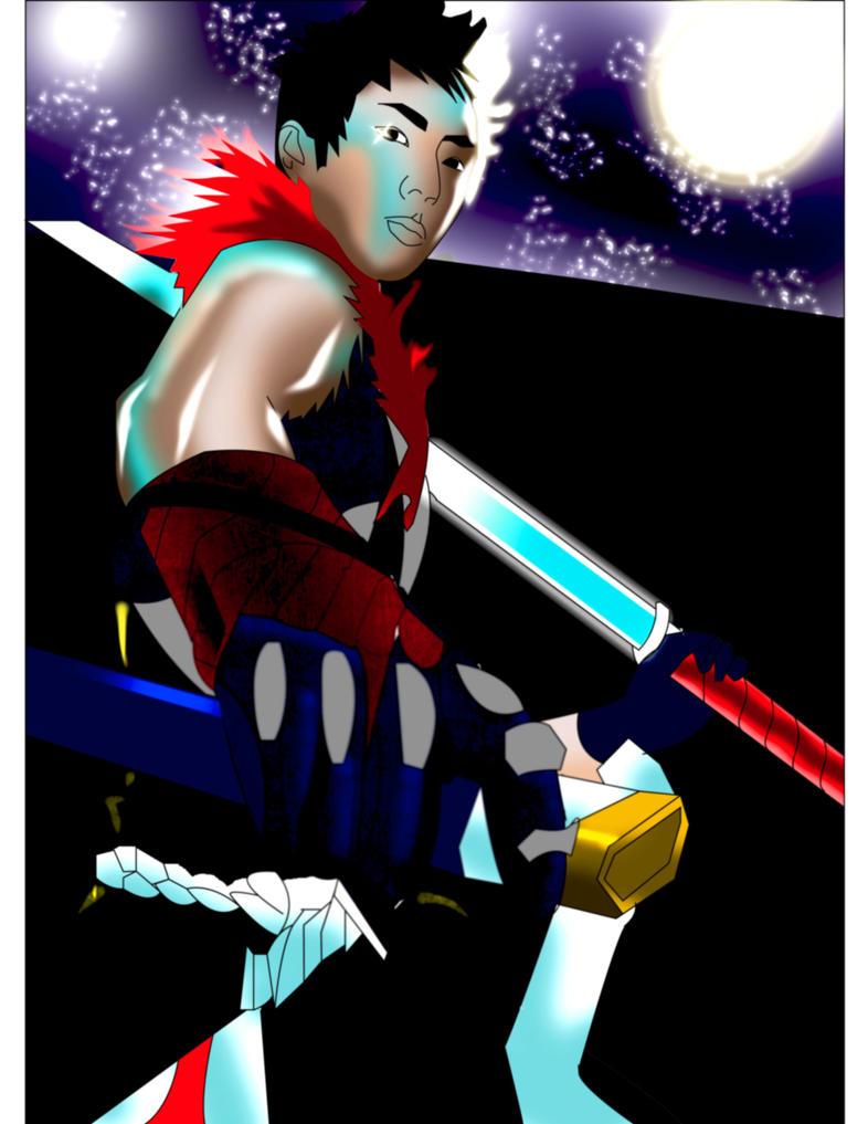 Guy Tang Go Go Samurai by DynamicSavior