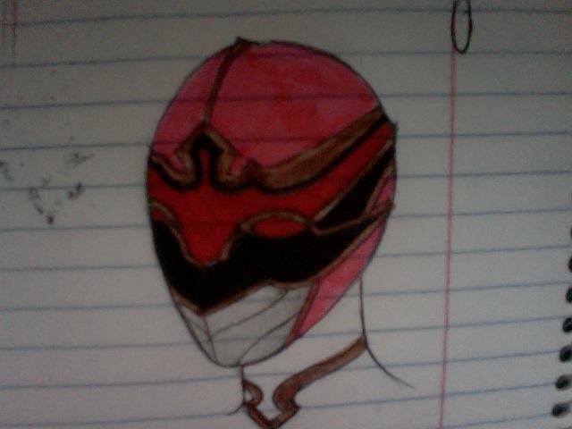 Ronin Pink helmet by DynamicSavior