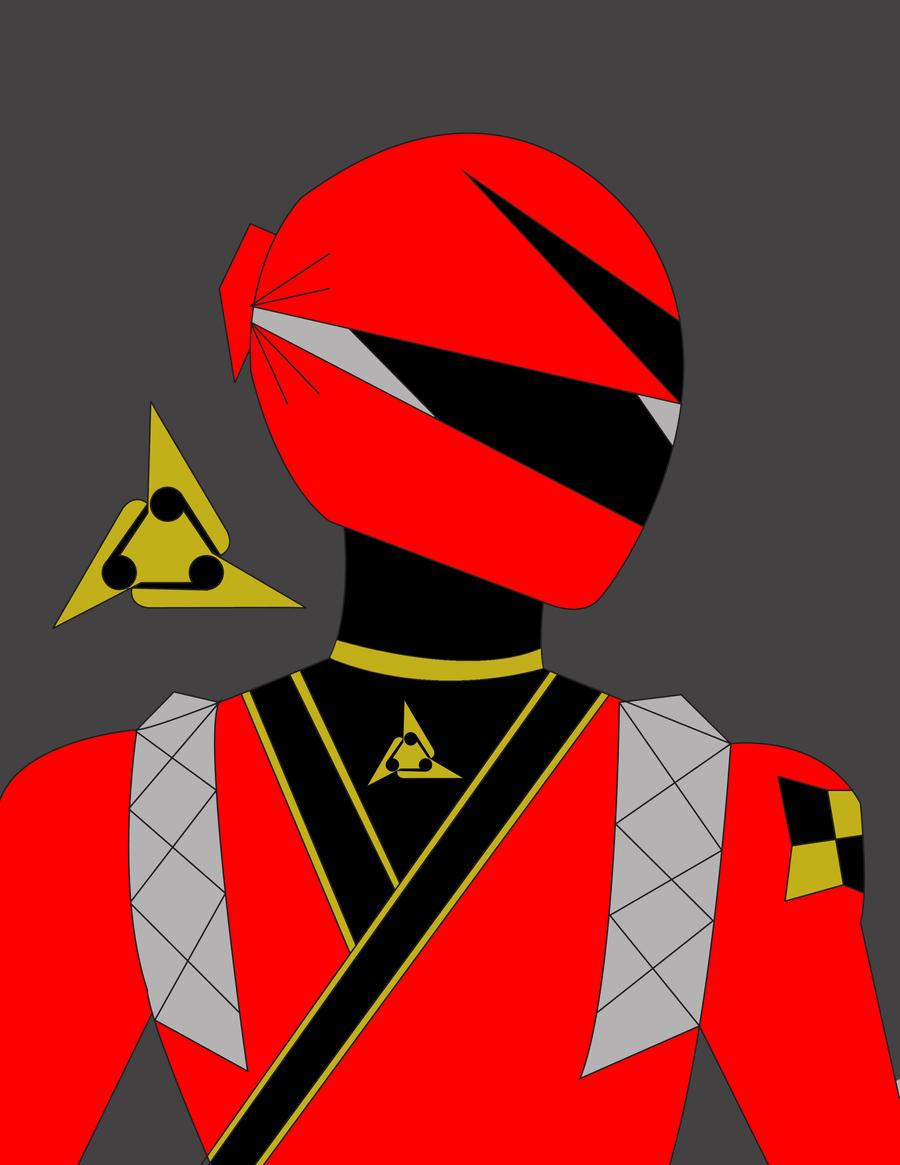 Red FuJin, alternate helmet by DynamicSavior