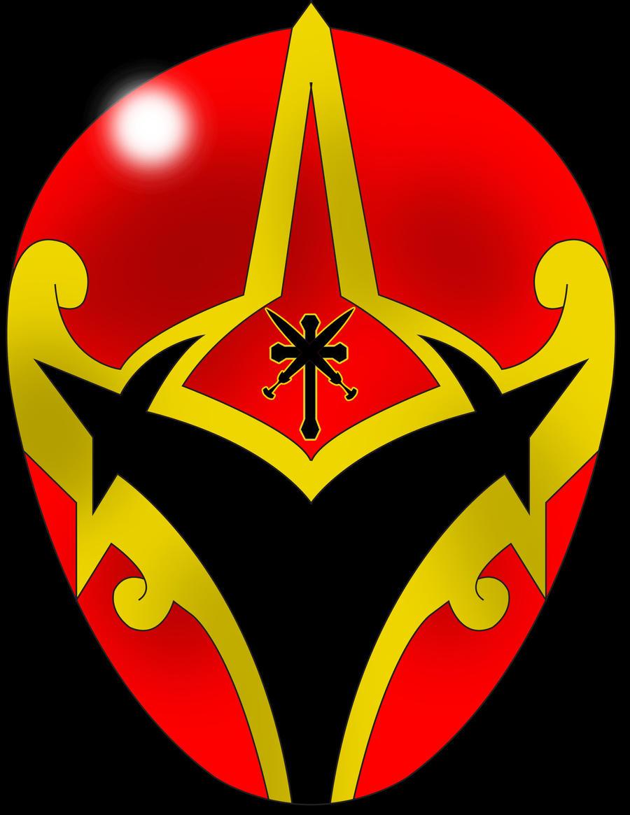Prayer Ranger Red Helmet by DynamicSavior