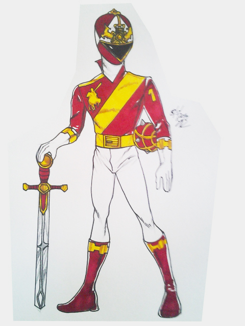 Red Knight full body by DynamicSavior