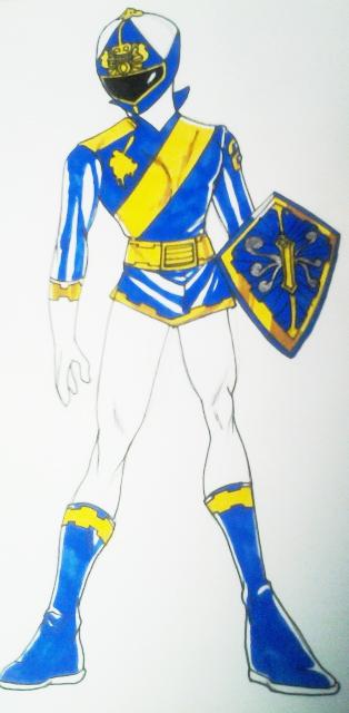 Blue Knight Full Body by DynamicSavior