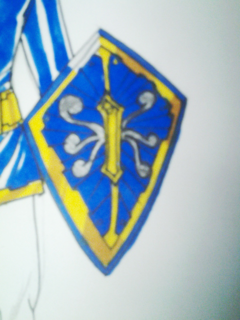 Blue Shield detail by DynamicSavior