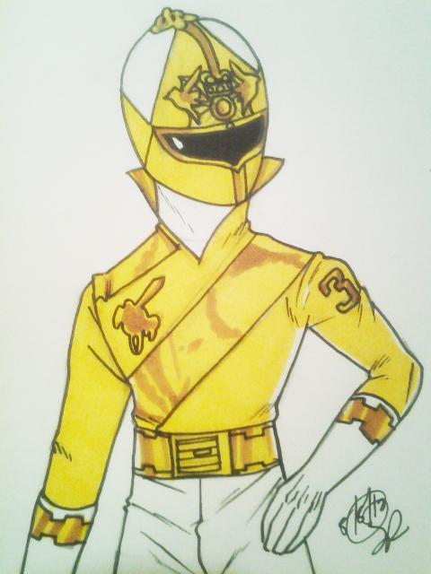 Yellow Knight Upper by DynamicSavior
