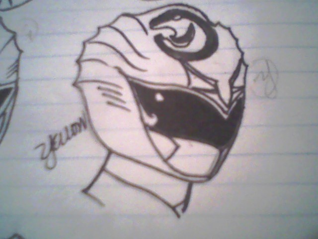 Yellow Seal helmet by DynamicSavior