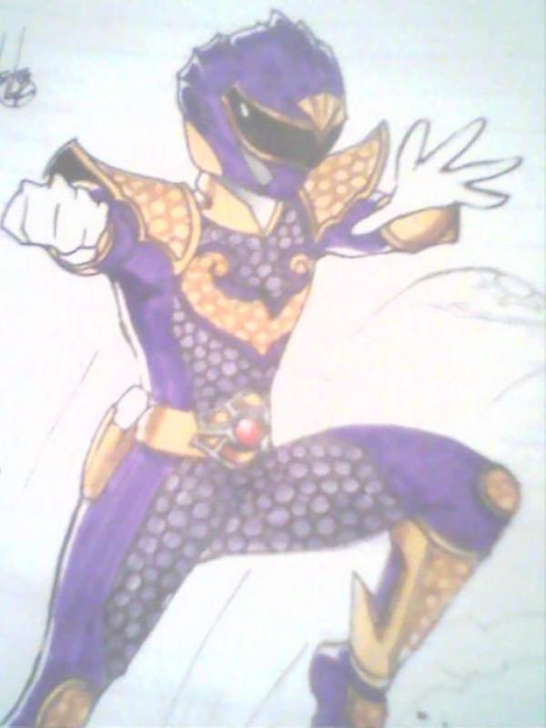 Purple Tidal Ranger concept by DynamicSavior
