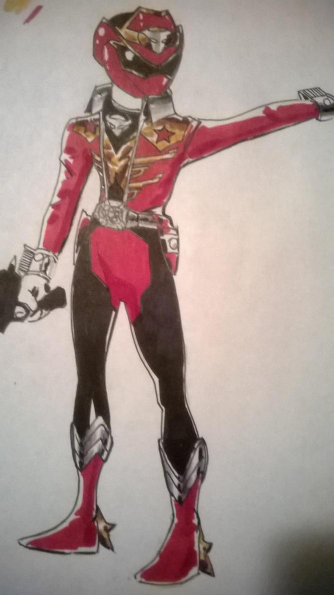 Cowboy Theme Sentai first draft by DynamicSavior