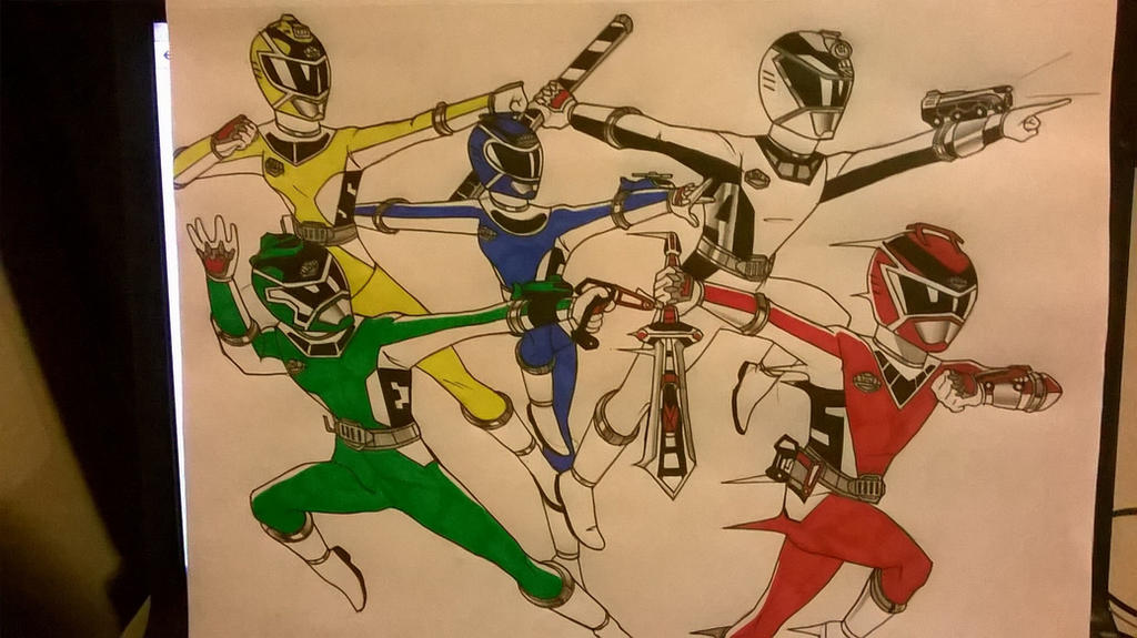 Power Rangers the Hunt by DynamicSavior