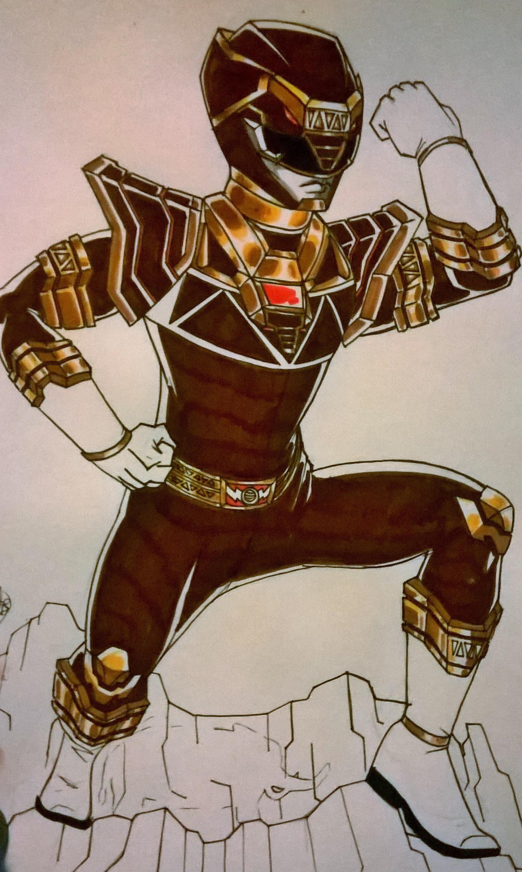 Brown Mammoth Ranger!!!!!! by DynamicSavior