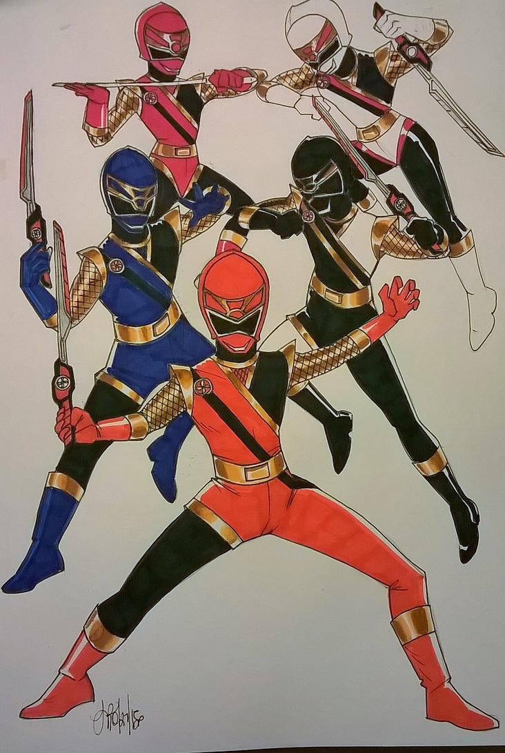 More Ninjas!! by DynamicSavior