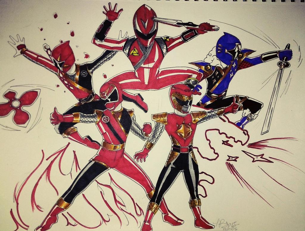 Ninjas Bros. by DynamicSavior