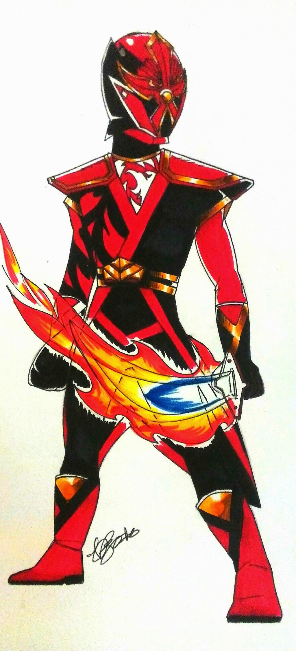 Gedou Bushido Red by DynamicSavior