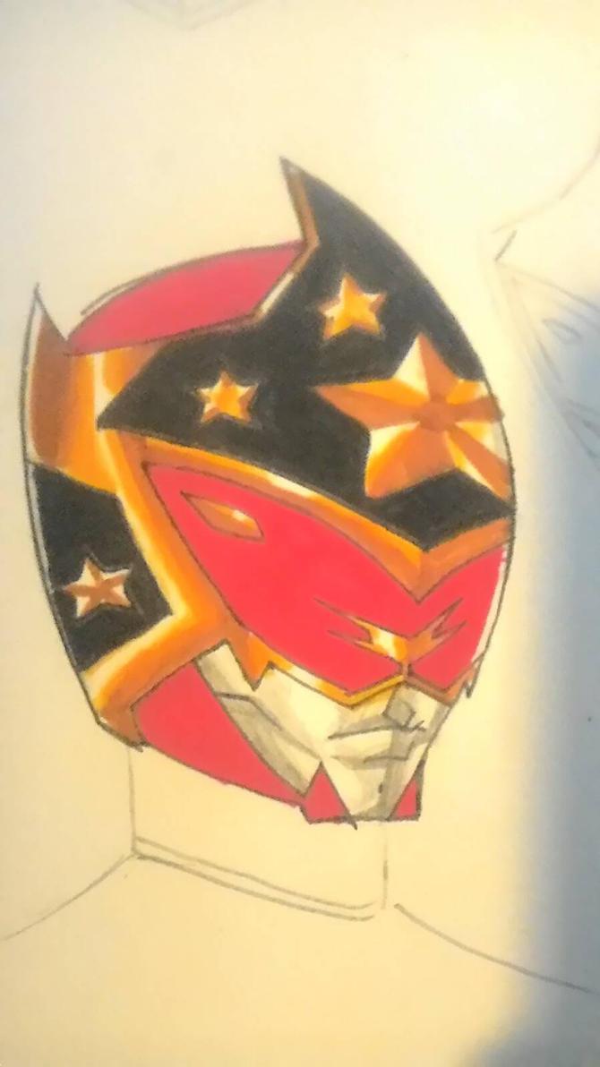 Magic Sentai helmet concept by DynamicSavior