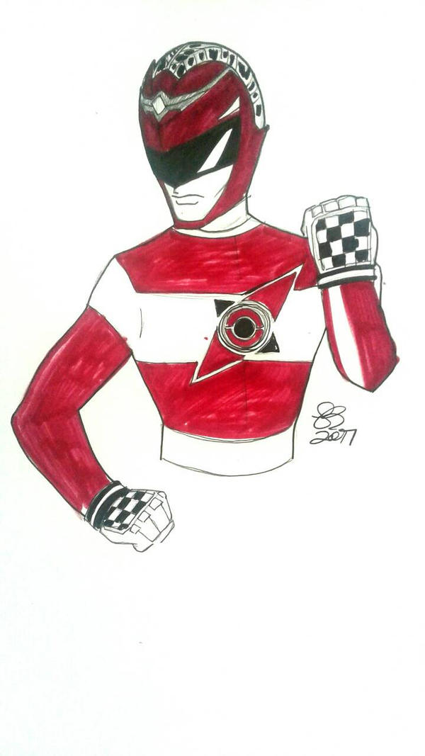Treasure Hunter Red Ranger by DynamicSavior