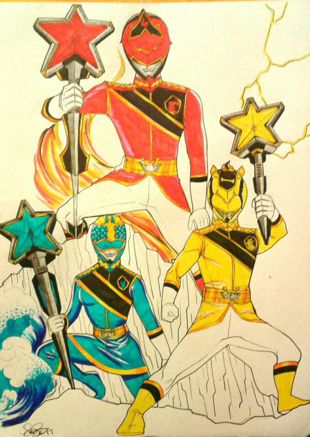 Royal Magicians  by DynamicSavior