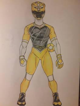Z-Leaguer Yellow Tiger/Soccer