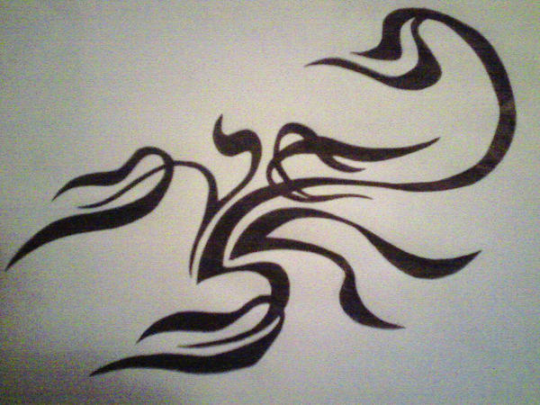Scorpion tattoo by painkiller overdose on deviantart for Painkillers for tattoos