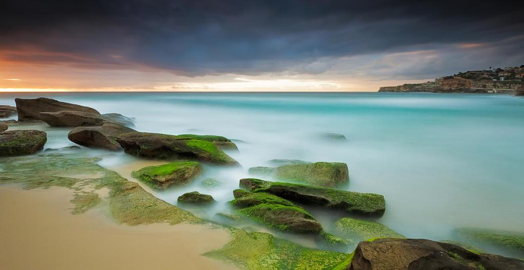 Ocean Snow by MarkLucey