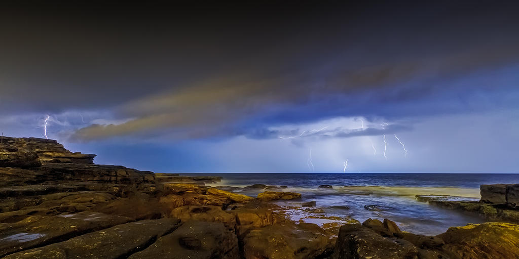 Shining Storm by MarkLucey