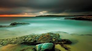 An Aqua Dawn