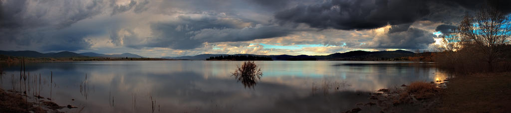 The Lakes' Shore by MarkLucey