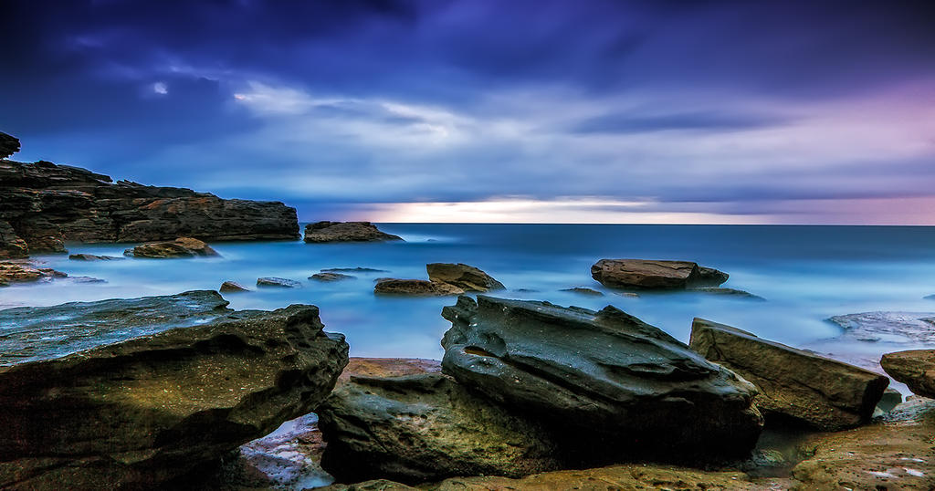 Oceans' Blues by MarkLucey